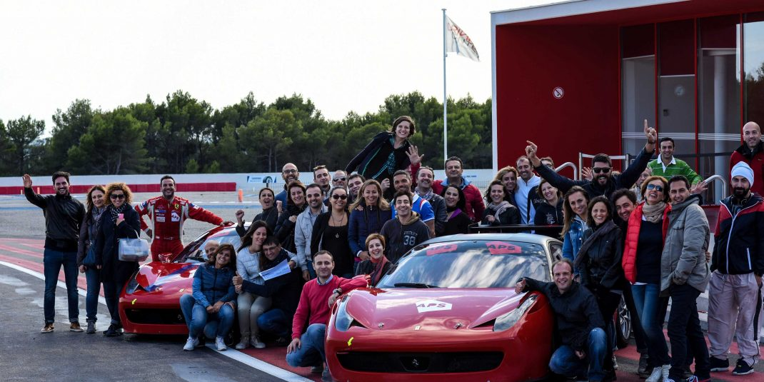 FAST DRIVING EXPERIENCE FOR APS TEAM - September 2015, Circuit Paul Ricard, France
