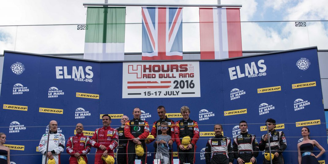 ELMS - 4 HOURS RED BULL RING - July 2016, Austria