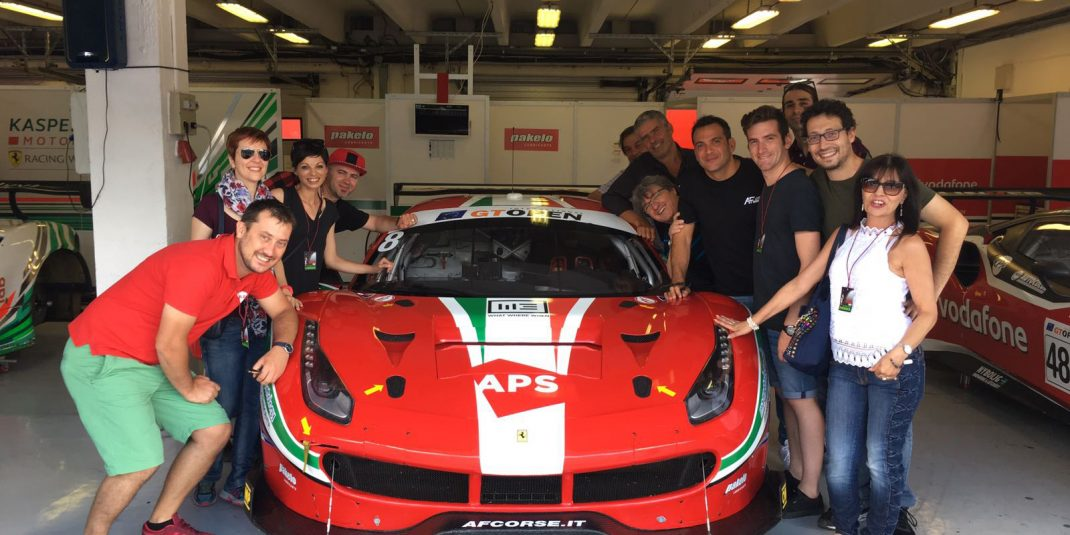 INTERNATIONAL GT OPEN - Our Team at the Hungaroring (Hungary), July 2017