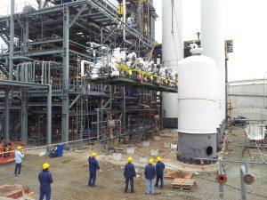 New Hydrogen Unit, Milazzo Refinery, EP, Italy