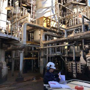 Vacuum Flasher Unit, Sines Refinery, EPC, Portugal